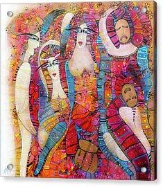 The Entr'acte  Acrylic Print by Albena Vatcheva