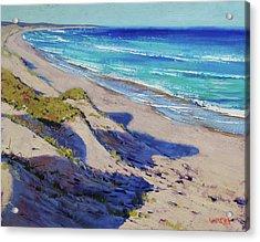 The Entrance Beach Dunes, Australia Acrylic Print by Graham Gercken