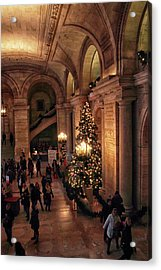 Acrylic Print featuring the photograph A Golden Entrance by Jessica Jenney