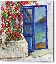 The Entrance To Paradise Acrylic Print by Viktoriya Sirris