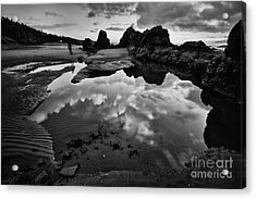 The Entrance To The Other World Acrylic Print by Masako Metz