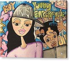 The  Entrepreneurs Mural Acrylic Print