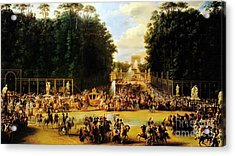 The Entry Of Napoleon And Marie-louise Acrylic Print by Celestial Images