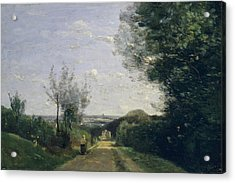 The Environs Of Paris Acrylic Print by Camille Corot