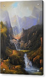 The Epic Journey Acrylic Print