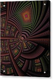 The Eschereschaton Acrylic Print by Ian Duncan Anderson