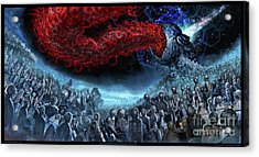 The Essence Of Time Matches No Flesh Acrylic Print