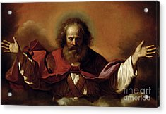 The Eternal Father Acrylic Print by Guercino