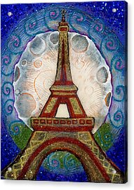 The Evening Of A Ready-wish Upon A Parisian High Point Acrylic Print