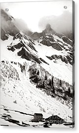The Ever Overwhelming Mountain Acrylic Print by Olivier Le Queinec