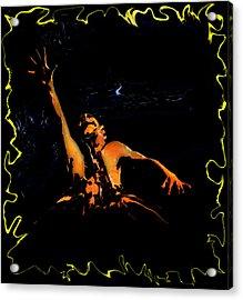 The Evil Dead Acrylic Print by Jeff DOttavio