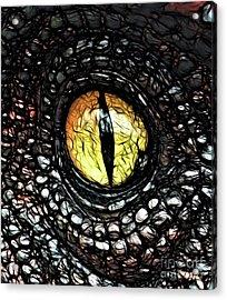 The Evil Eye By Raphael Terra Acrylic Print