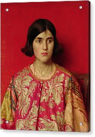 The Exile - Heavy Is The Price I Paid For Love Acrylic Print by Thomas Cooper Gotch