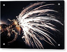 The Exploding Growler Acrylic Print