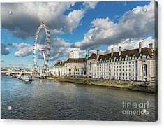 The Eye London Acrylic Print