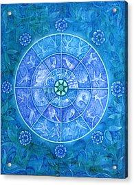 The Eye Of Kanaloha Acrylic Print by Hiske Tas Bain