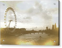 The Eye Of London Art Acrylic Print by JAMART Photography