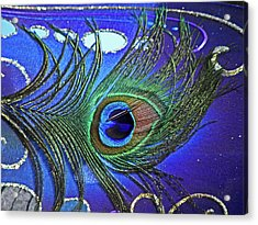The Eye Of The Peacock Acrylic Print