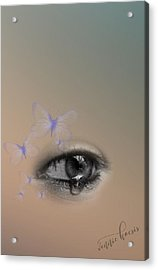The Eyes Don't Lie Acrylic Print