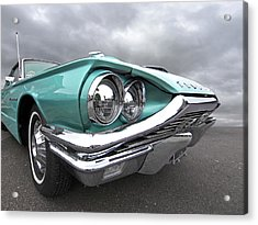Acrylic Print featuring the photograph The Eyes Have It - 1964 Thunderbird by Gill Billington