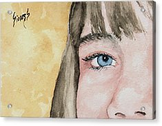 The Eyes Have It - Bryanna Acrylic Print by Sam Sidders