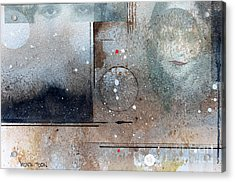 The Eyes Have It Acrylic Print by Monte Toon