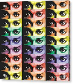 The Eyes Have It Two Acrylic Print