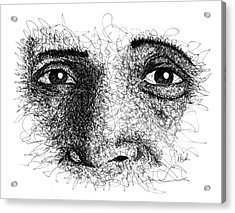 The Eyes Of Ramana Acrylic Print