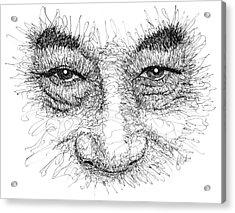 The Eyes Of The Dalai Lama Acrylic Print