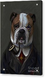 The Fabulous Bentley Acrylic Print by Stella Violano