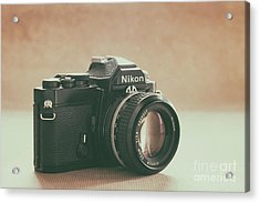 Acrylic Print featuring the photograph The Fabulous Nikon by Ana V Ramirez