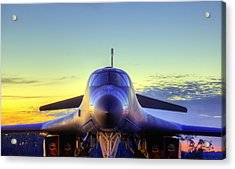 Acrylic Print featuring the photograph The Face Of American Airpower by JC Findley