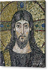 The Face Of Christ Acrylic Print