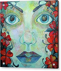 The Face Of Persephone I Acrylic Print