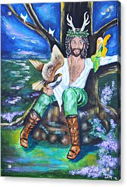 The Faery King Acrylic Print