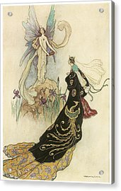 The Fairy Book Acrylic Print by Warwick Goble