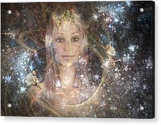 The Fairy Queen Acrylic Print by Carol and Mike Werner