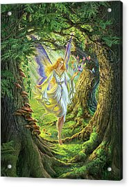 The Fairy Queen Acrylic Print