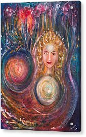 The Fairy Queen Acrylic Print by Solveig Katrin