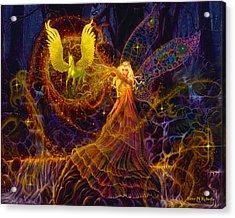 The Fairy Spell Acrylic Print by Steve Roberts