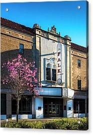 The Falk Theater Acrylic Print