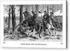 The Fall Of Reynolds Acrylic Print by War Is Hell Store