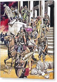 The Fall Of The Roman Empire In The West Acrylic Print