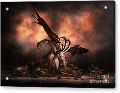 The Fallen Acrylic Print by Shanina Conway