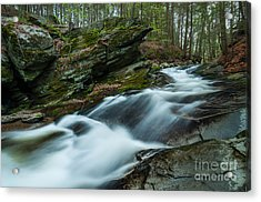 The Falls At Tierney Acrylic Print