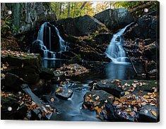 The Falls Of Black Creek In Autumn IIi Acrylic Print