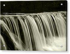 The Falls Acrylic Print by Timothy Johnson