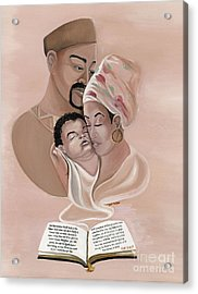 The Family Acrylic Print by Toni  Thorne
