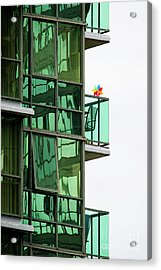 Acrylic Print featuring the photograph The Windmill by Chris Dutton