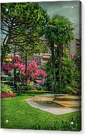 Acrylic Print featuring the photograph The Fancy Swiss South-west by Hanny Heim